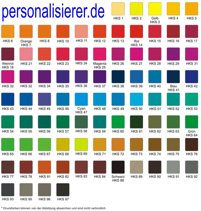 Die Farbpalette